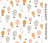 vector seamless pattern  cute...   Shutterstock .eps vector #1239379744
