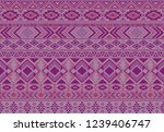boho pattern tribal ethnic... | Shutterstock .eps vector #1239406747