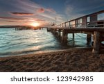 Sunset At Russell  Bay Of...