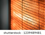 halogen heater  closeup   Shutterstock . vector #1239489481