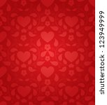 red seamless background for... | Shutterstock .eps vector #123949999