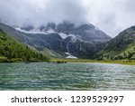 valley lake view under the the... | Shutterstock . vector #1239529297