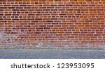 Brick Wall With Stone Floor