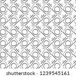 black and white seamless hand... | Shutterstock .eps vector #1239545161