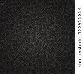 Seamless Background Of  Black...