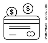 modern vector line icon for web ...   Shutterstock .eps vector #1239570181