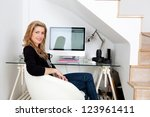 young professional photographer ... | Shutterstock . vector #123961411