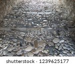 an old street paved with cobble ...   Shutterstock . vector #1239625177