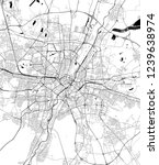 vector map of the city of... | Shutterstock .eps vector #1239638974
