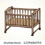 cute rail carrycot nap design...   Shutterstock .eps vector #1239686554