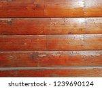 natural wood log. door  wall ... | Shutterstock . vector #1239690124