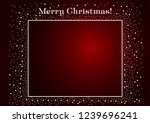 congratulations on christmas.... | Shutterstock .eps vector #1239696241