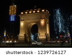 bucharest  romania   january 5  ...   Shutterstock . vector #1239726127