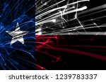 texas abstract fireworks... | Shutterstock . vector #1239783337