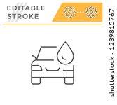 car wash line icon | Shutterstock .eps vector #1239815767