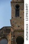 windows of abandoned castle in... | Shutterstock . vector #1239818497
