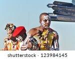cape town   may 25   an... | Shutterstock . vector #123984145