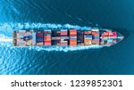 aerial top view full speed... | Shutterstock . vector #1239852301