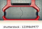futuristic door   sci fi... | Shutterstock . vector #1239869977