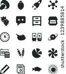 solid black vector icon set  ... | Shutterstock .eps vector #1239885814