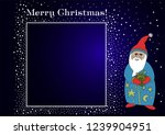 congratulations on christmas.... | Shutterstock .eps vector #1239904951