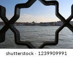istanbul golden horn and hagia... | Shutterstock . vector #1239909991