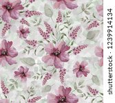 seamless background with... | Shutterstock . vector #1239914134
