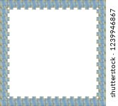 rectangular frame of colorful... | Shutterstock . vector #1239946867