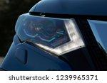 modern car led daytime running... | Shutterstock . vector #1239965371