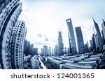 cityscape of modern city | Shutterstock . vector #124001365