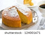 Butter Cake With Orange Zest...