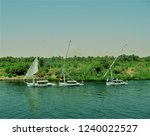 the landscape of the river bank ... | Shutterstock . vector #1240022527