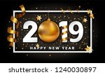 new year typographical cretaive ... | Shutterstock . vector #1240030897