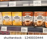 Small photo of Selangor, Malaysia - November 2018: Nippy's iced chocolate drinks display in supermarket shelf. Nippy's Pty Ltd is a 100% South Australian family owned company