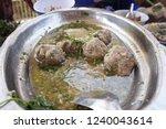 vietnamese meat ball  xiu mai . ...   Shutterstock . vector #1240043614