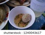 vietnamese meat ball  xiu mai . ...   Shutterstock . vector #1240043617