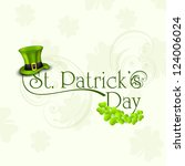 St. Patrick's Day Greeting Card ...