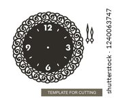 openwork dial with arrows and... | Shutterstock .eps vector #1240063747