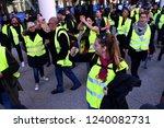 marseille  france   november 24 ...   Shutterstock . vector #1240082731