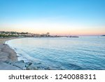 view of set maxime at dusk  | Shutterstock . vector #1240088311
