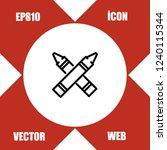 highlighter icon vector | Shutterstock .eps vector #1240115344