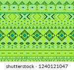 peruvian american indian... | Shutterstock .eps vector #1240121047