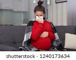 photo of tired displeased... | Shutterstock . vector #1240173634