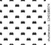 front car pattern seamless...   Shutterstock .eps vector #1240188574