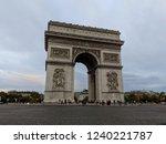 arch of triumph in paris | Shutterstock . vector #1240221787