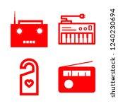 knob icon set about doorknob ... | Shutterstock .eps vector #1240230694