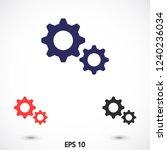 settings vector icon 10 eps | Shutterstock .eps vector #1240236034
