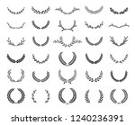 collection of different black...   Shutterstock .eps vector #1240236391