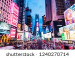 new york  usa   september 26 ... | Shutterstock . vector #1240270714