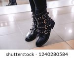Luxurious Autumn Boots Made Of...